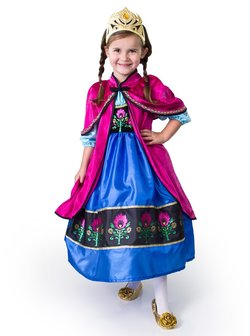 Little Adventures - Frost, Prinsesse Anna cape Rød - Little Adventures