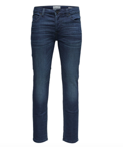 ONSLOOM JOG BLUE SLIM FIT JEANS Blå - Only and sons