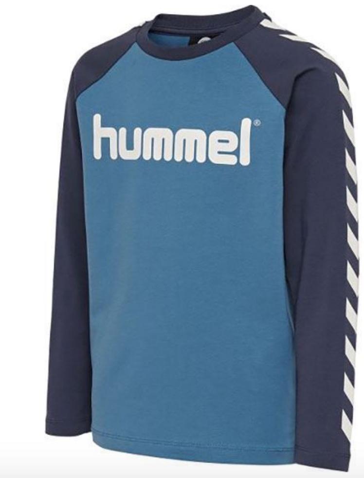 Hummel , boys genser blå Barneklær og Interiør AS
