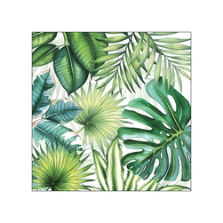 Napkin 33 Tropical Leaves Blank - Ambiente