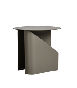 WOUD Sentrum side table taupe Taupe - WOUD