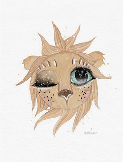 Lion - By Christine Hoel Lion - A5 - By Christine Hoel