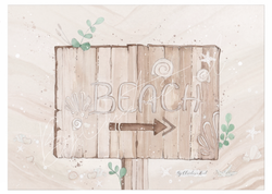 Beach - By Christine Hoel Beach - A5 - By Christine Hoel