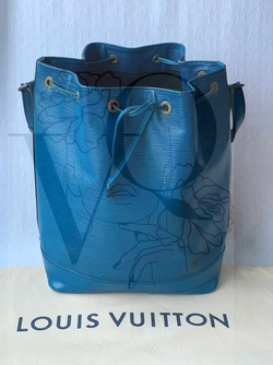 Louis Vuitton Epi Noé GM Blå -  Louis Vuitton