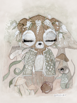 By Christine Hoel - Bear Limited Edition Bear - A4 - By Christine Hoel
