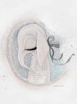 By Christine Hoel - Elphie - Limited Edition Elphie - A4 - By Christine Hoel