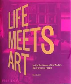 Table book - Life meets art  Lilla/rosa  - New mags
