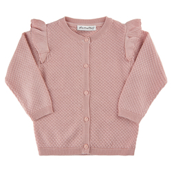 Minymo Cardigan  Rose Smoke - Minymo