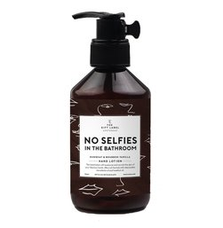 the gift label - hand lotion no selfies in the bathroom - The Gift Label