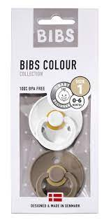 Bibs Colour 2pk White&Dark Blue - Bibs