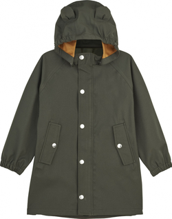 Liewood  - Blake Long Raincoat Hunter Green - Liewood