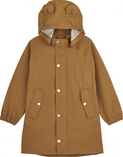 Liewood  - Blake Long Raincoat Mustard - Liewood