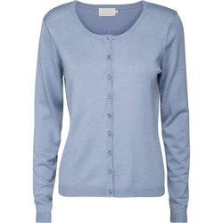 Laura Cardigan faded denim - Minus