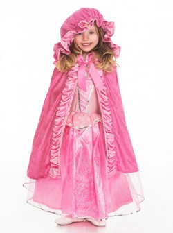 Little Adventures - Princess Deluxe cape Rosa - Little Adventures