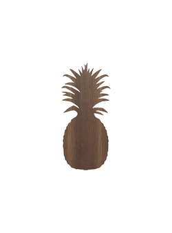 FERM LIVING VEGGLAMPE PINEAPPLE SMOKED OAK - Ferm Living