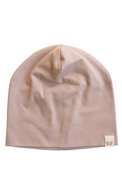 BY HERITAGE KERSTIN BEANIE SOLID VINTAGE PEACH - By Heritage