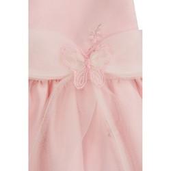 033311f74b1d Pascal babykjole med sommerfugler rosa