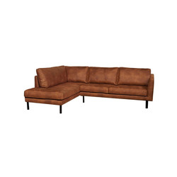 Perugia Lounge sofa Left Cognac - Trend Collection