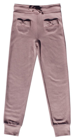 VILJE & VE OLAUG WOOLPANT DUSTY ROSE - VILJE & VE