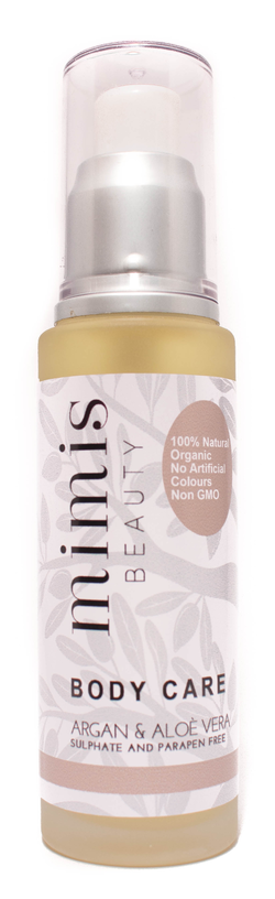 MIMIS Body care argan oil & aloé vera Natur - MIMIS