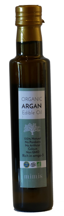 Organic argan edible oil Natur - MIMIS