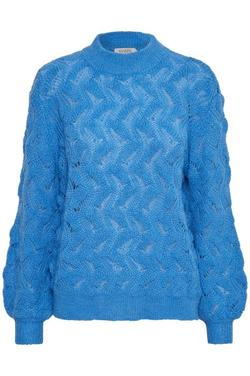 Frida Pullover LS. Marina Blue. - Soaked in Luxury