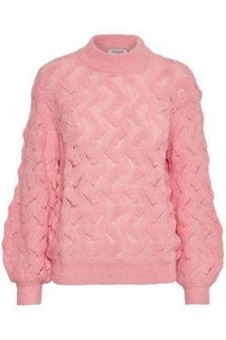 Frida Pullover LS Pink Icing. - Soaked in Luxury