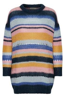 Manna Pullover Multi Stripes. - Soaked in Luxury