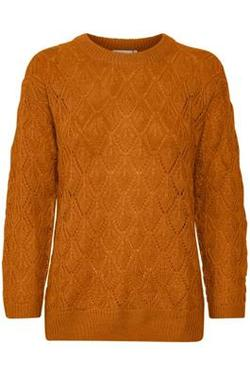 KAsiema Pullover. Orange Map. - Kaffe