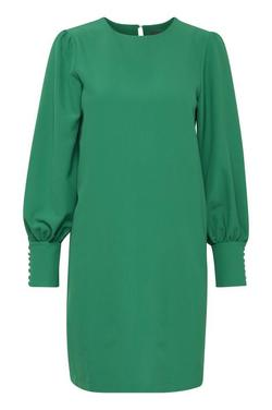 IHBELINDA DRESS. Jolly Green. - Ichi