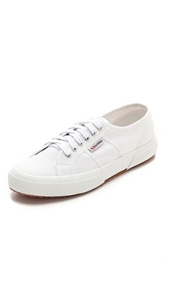 Sko - white - Superga Hvit - Superga
