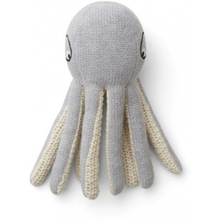 Liewood Ole knit mini octopus  Grey Melange - Liewood