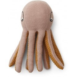 Liewood Ole knit mini octopus  Rose - Liewood