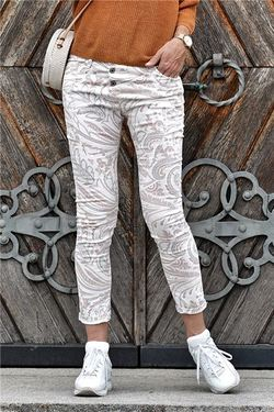 Please jeans, classic, blue paisley Blue paislay - Please Jeans