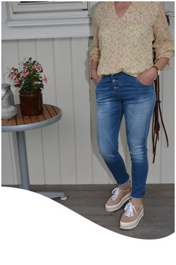 PLEASE JEANS, classic, light denim Lyseblå - Please Jeans