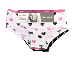 Walking 3 pk. Truser  Hvit/rosa/svart - Walking