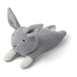 Missy knit teddy – rabbit grey melange grå - Liewood